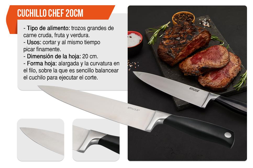 Cuchillo Chef 20 cm