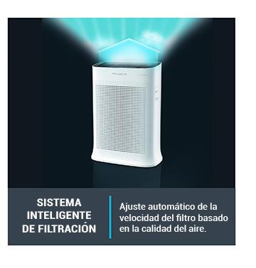 Sistema inteligente de filtración basado en la calidad del aire.