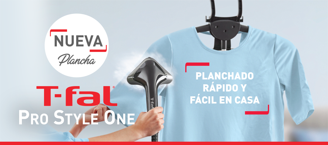 Plancha de ropa vertical T-fal Pro Style One