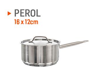 Perol para salsas, encurtido y vegetales de 16cm