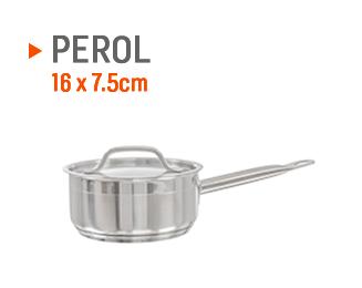 Perol para salsas, encurtido y vegetales de 16 x 7,5cm