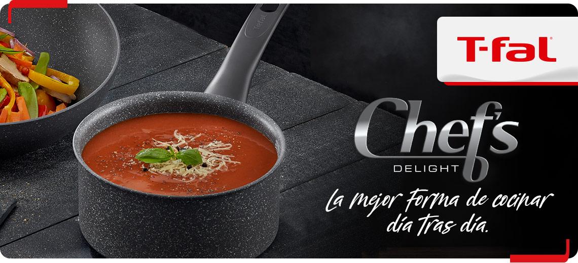 Chef Delight de T-Fal es la pareja ideal de tu cocina