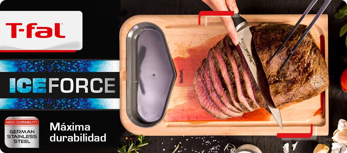 La mejor forma de cocina es con T-fal