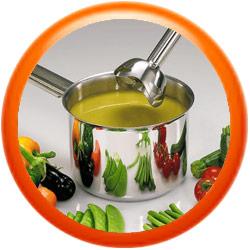 Lo puedes usar directamente en la olla sin necesidad de ensuciar más utensilios.