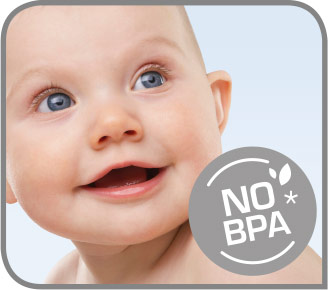 Apto para alimentos de bebés
