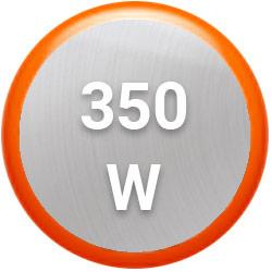 Su potencia de 350W para mayor eficiencia al hacer preparaciones