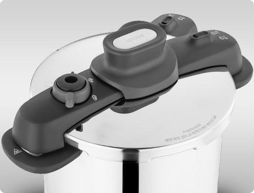 Su tapa reduce el espacio en tu cocina y se abre y cierra con un solo giro