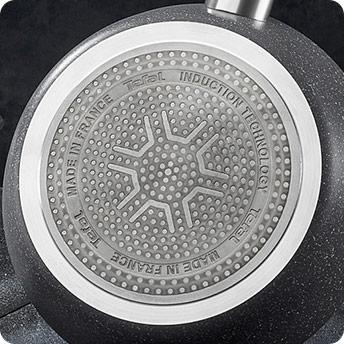 Sartén de 22cm antiadherente en Aluminio con base en acero inoxidable
