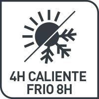termo que conserva el calor 4 horas y frío 8 horas