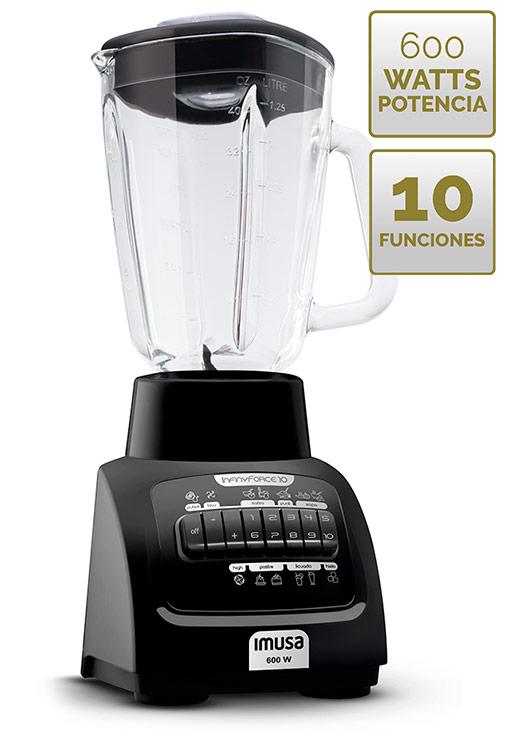 Su vaso de gran capacidad permite preparaciones de hasta 1.75 Litros