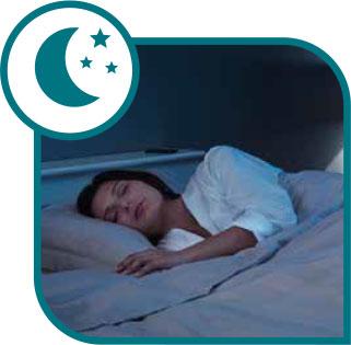 Función ultra silenciosa para dormir profundo y fresco