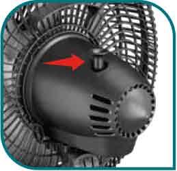Oscilación horizontal para una mejor distribución de aire